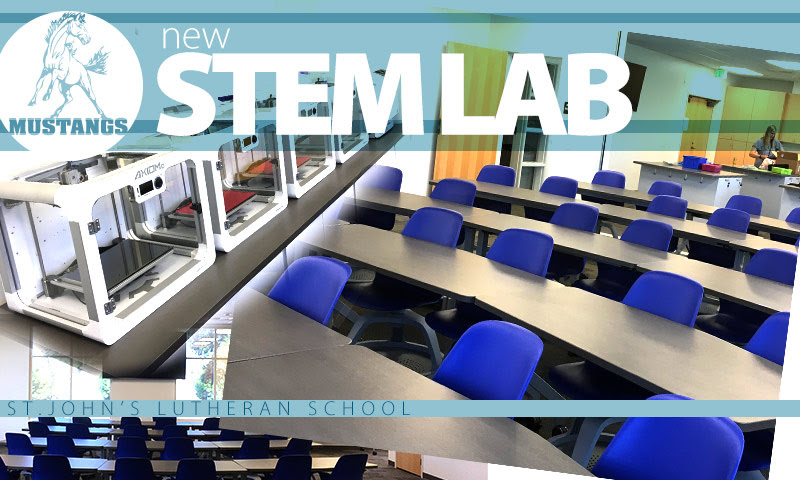 STEM Lab is OPEN!