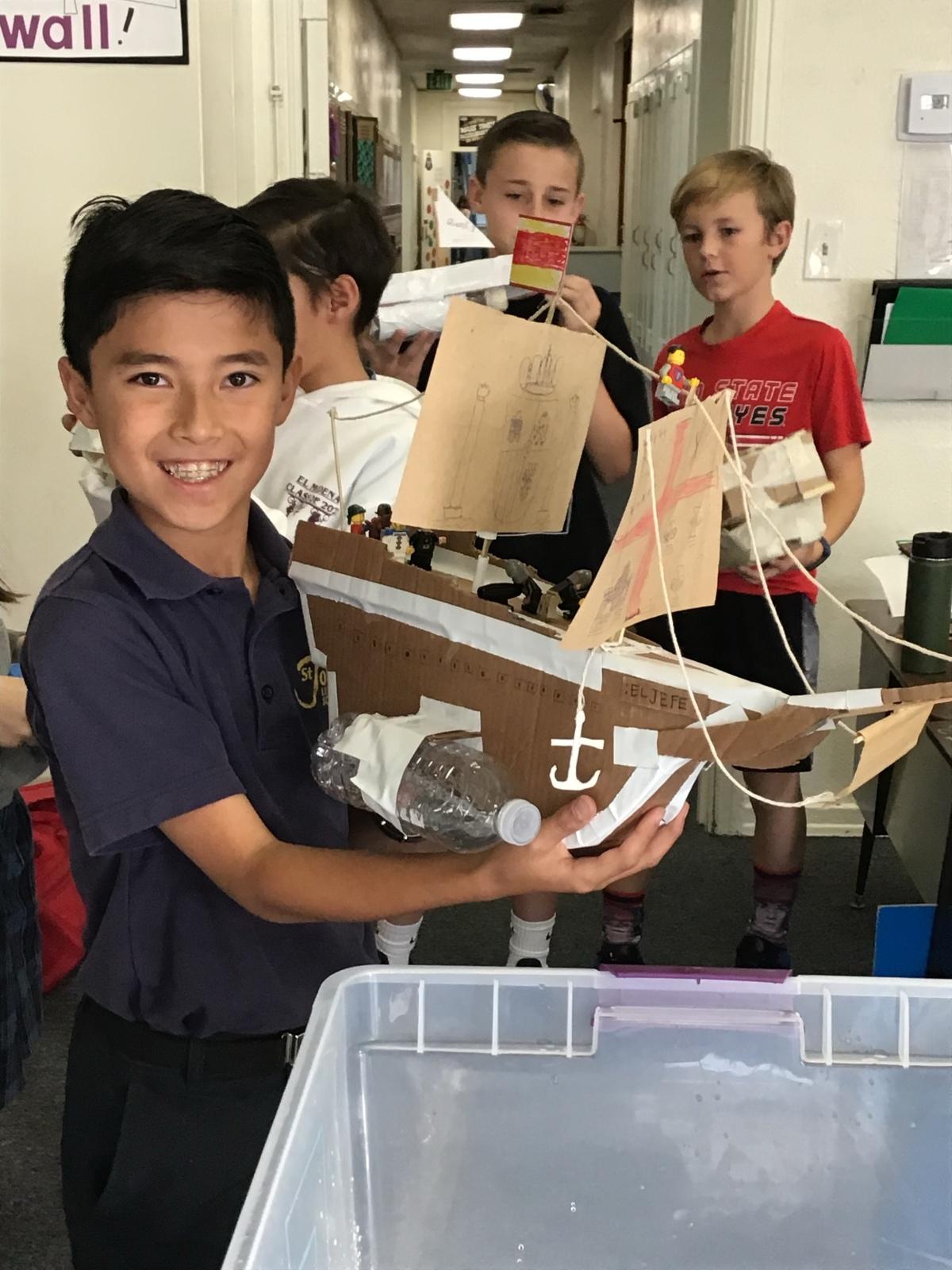 Creativity in 4th Grade HistoryClass!