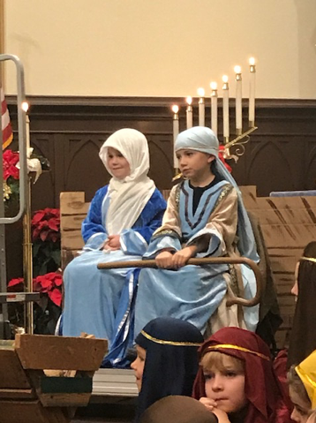 The Story of Christmas – Presented by K & 1st Grades