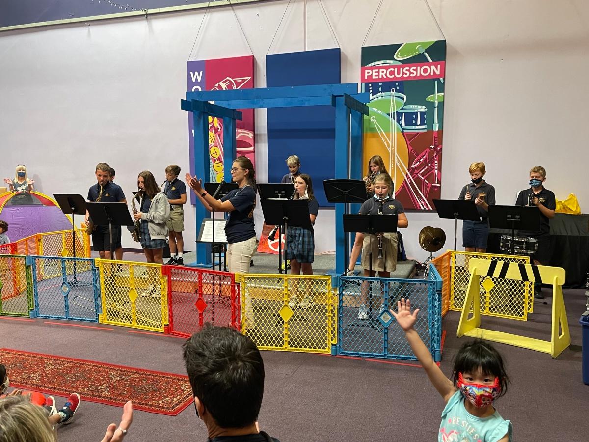 Mustang Musicians! Band at St.John's